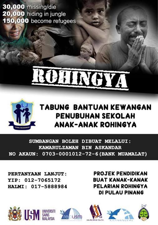 Rohingya Tuition Center Penang