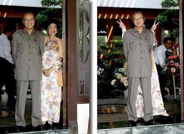 Tun Dr Mahathir & Tun Dr Siti Hasmah, love story