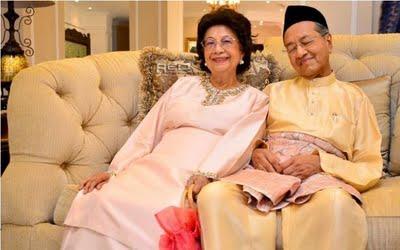 Tun Dr Mahathir & Tun Dr Siti Hasmah